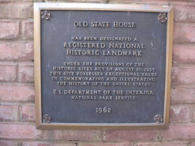 Old State House Marker image. Click for full size.