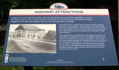 Highway Attractions Marker image. Click for full size.