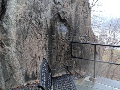 Marker at West Point image. Click for full size.