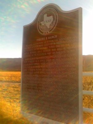 Figure 2 Ranch Historical Marker image. Click for full size.
