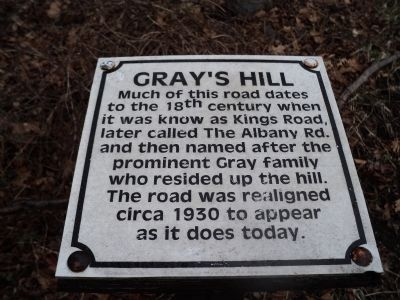 Gray's Hill Marker image. Click for full size.