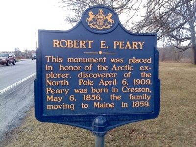 Robert E. Peary Marker image. Click for full size.