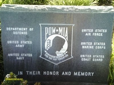 MIA / POW Marker image. Click for full size.