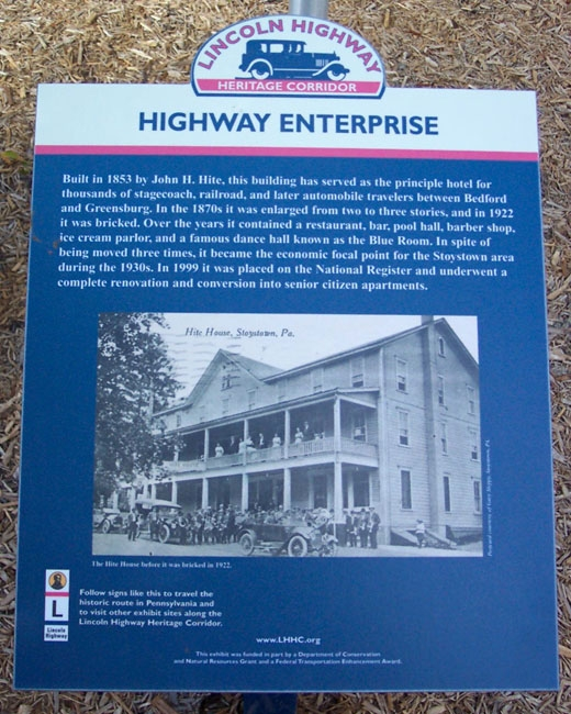 Highway Enterprise Marker