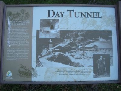 Day Tunnel Marker image. Click for full size.