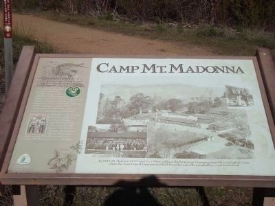 Camp Mt. Madonna Marker image. Click for full size.