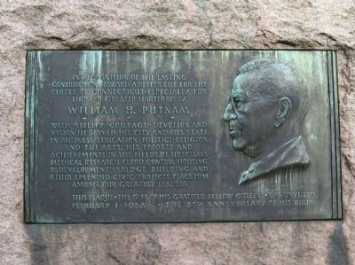 William H. Putnam Marker image. Click for full size.