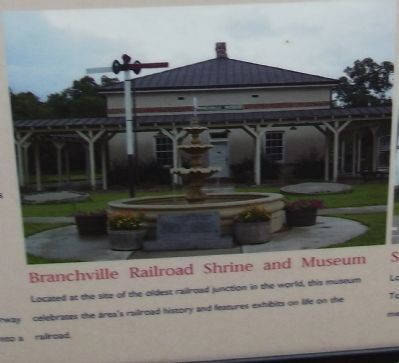 Branchville Railroad Shrine and Museum image. Click for full size.