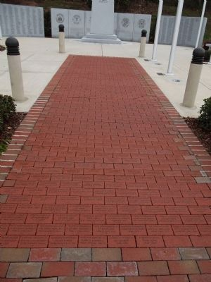 Memorial Bricks Walkway image. Click for full size.