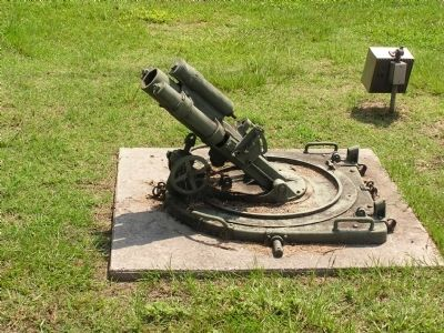 WWI Mortar image. Click for full size.