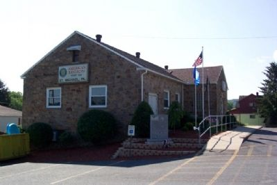 American Legion Post 551 Veterans Memorial image. Click for full size.