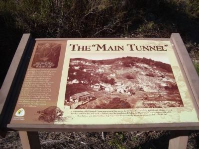 "The ""Main Tunnel"" Marker image. Click for full size."