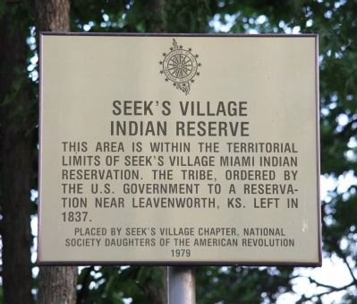Seek's Village Marker image. Click for full size.