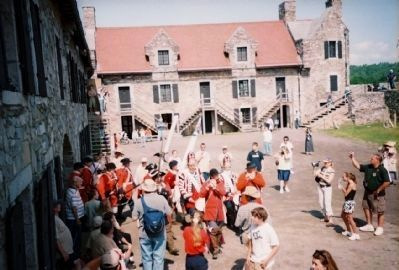 Fort Ticonderoga Reenactment image. Click for full size.