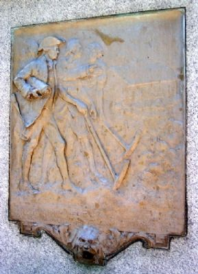 Joseph Johns Marker Relief image. Click for full size.