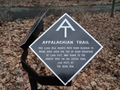 Appalachian Trail Marker image. Click for full size.