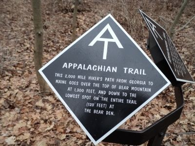 Second Appalachian Trail Marker image. Click for full size.