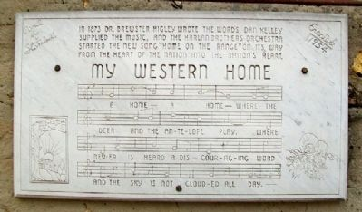 """My Western Home"" Marker image. Click for full size."