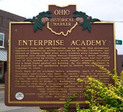 Enterprise Academy Marker (Side B) image, Touch for more information