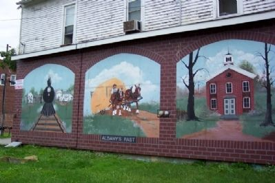 Murals Near Albany / Enterprise Academy Marker image. Click for full size.