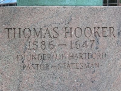 Thomas Hooker Marker image. Click for full size.