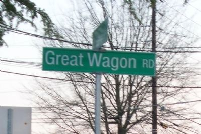 "Great Wagon Road ""Marker"" image. Click for full size."