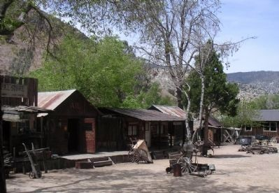 Silver City Ghost Town Square image. Click for full size.