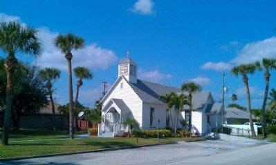 Community Chapel of Melbourne Beach Florida image. Click for full size.