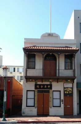Chinese Consolidated Benevolent Assoc. Building image. Click for full size.
