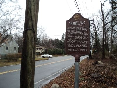Hickory Hill Cooperative Marker image. Click for full size.
