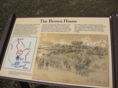 The Brown House Marker image. Click for full size.