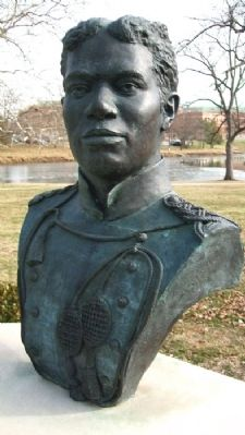 2nd Lt. Henry Ossian Flipper Bust image. Click for full size.