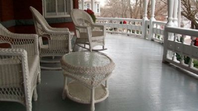 Muchnic House Veranda image. Click for full size.
