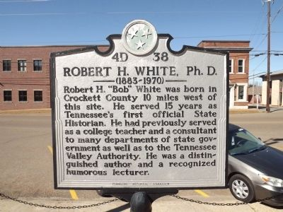 Robert H. White. Ph. D. Marker image. Click for full size.