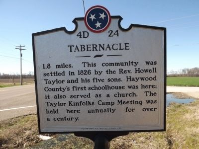 Tabernacle Marker image. Click for full size.