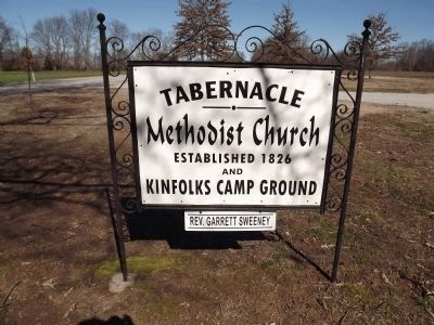 Tabernacle Church & Camp Ground Sign image. Click for full size.