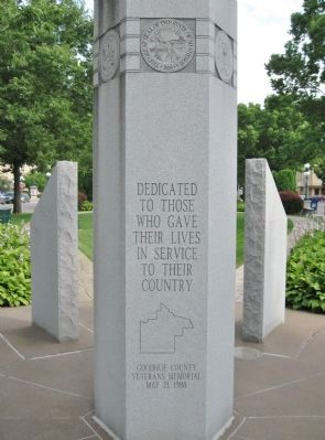 Goodhue County Veterans Memorial image. Click for full size.