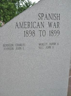 Spanish American War · 1898 to 1899 image. Click for full size.