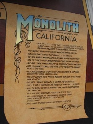 Monolith Marker image. Click for full size.