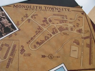 Monolith Townsite-1958 image. Click for full size.