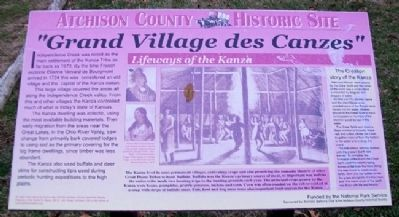 """Grand Village des Canzes"" Marker image. Click for full size."