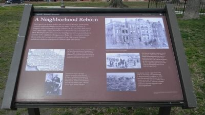 A Neighborhood Reborn Marker image. Click for full size.