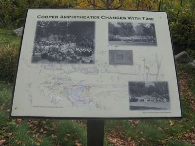 Cooper Amphitheater Changes With Time image. Click for full size.