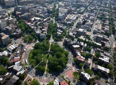 Aerial View of Logan Circle image. Click for full size.