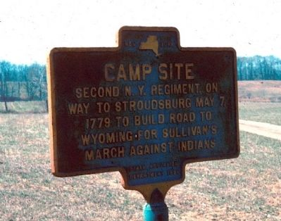 Camp Site Marker image. Click for full size.