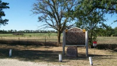 Kansas Indian Treaty Marker image. Click for full size.