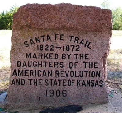 Sora Kansas Creek Marker (Side B) image. Click for full size.
