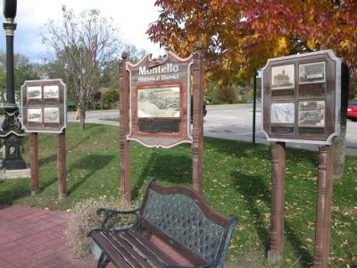 Montello Historical District Markers image. Click for full size.