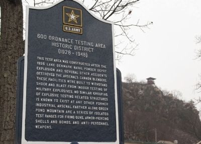 600 Ordnance Testing Area Historic District (1928-1948) Marker image. Click for full size.