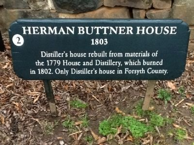 Herman Buttner House Marker image. Click for full size.